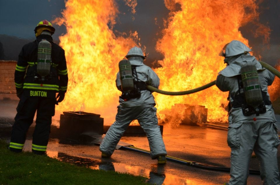 Firefighter Jobs - How a Military Background Can Help with
