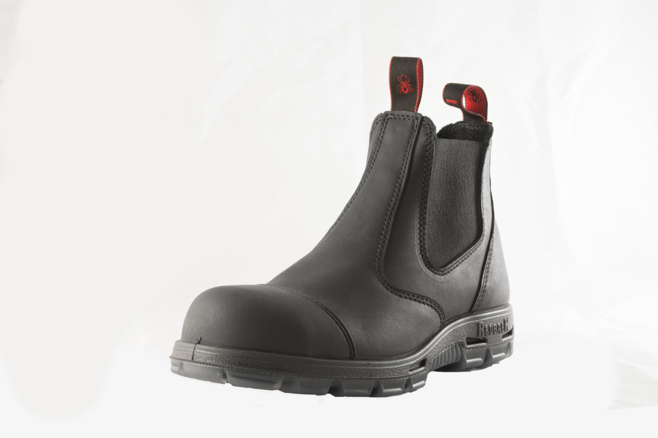 Redback Usa Offers Steel Toe Boot With Scuff Cap For