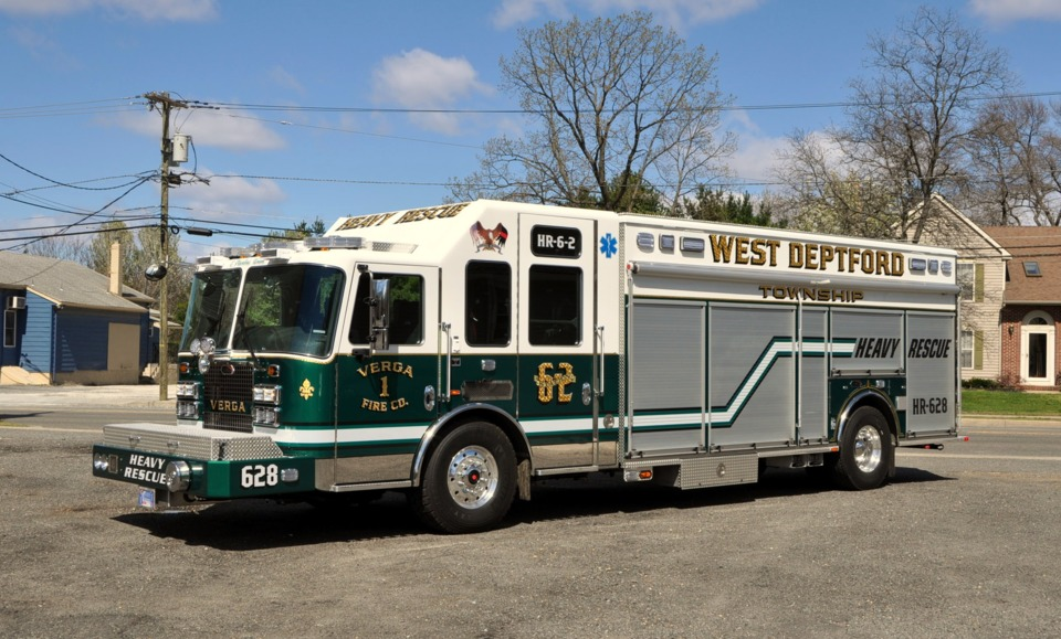 Heavy Rescue Rolls Into West Deptford Township N J With