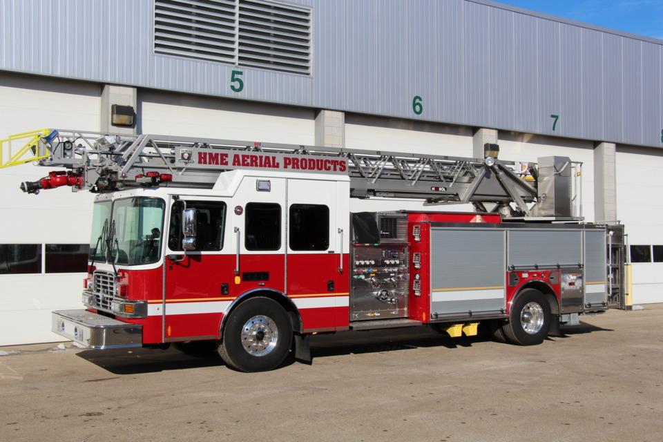 Fire Apparatus News - Aluminum or Steel Aerial Ladders