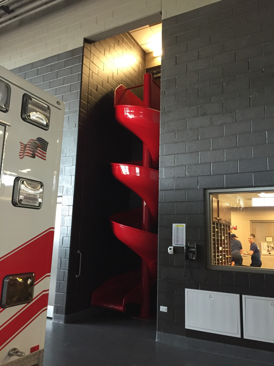 Decontamination Room Design: Combination Firehouse Designed For Effectiveness, Living