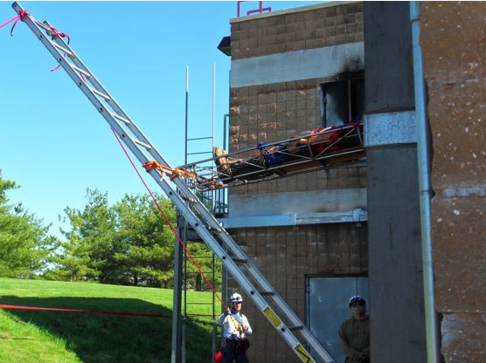 Ground Ladders For Trench Building Collapses And