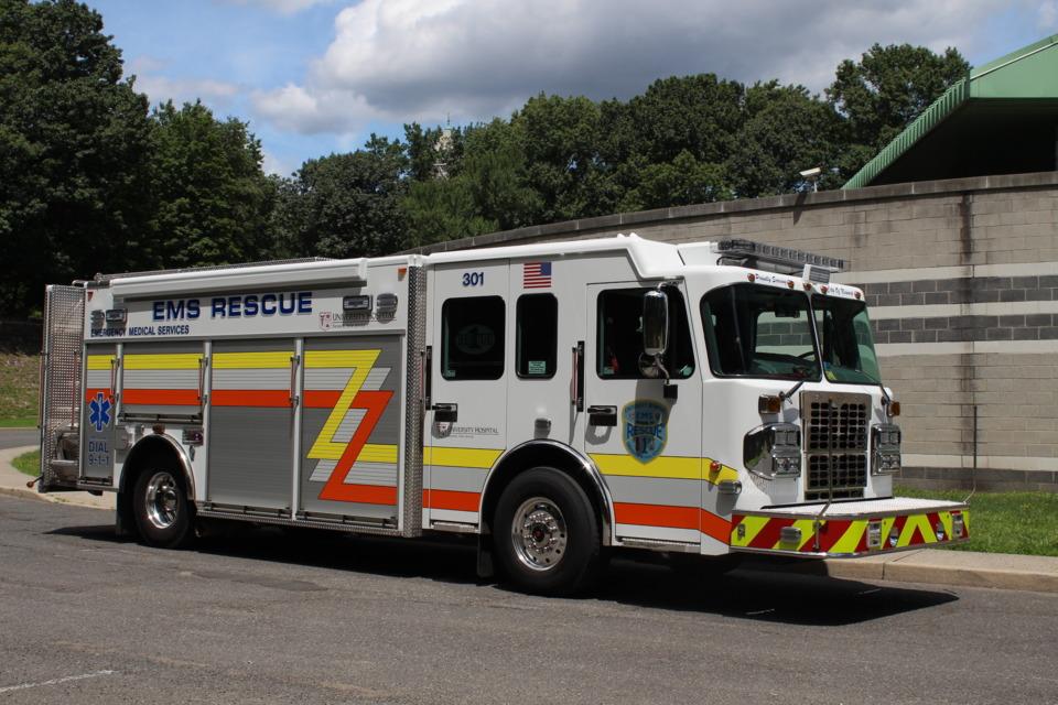 University Hospital, Newark, NJ, Gets Heavy Rescue, Built by