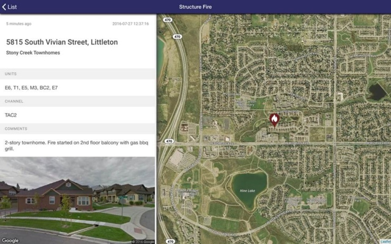 Locution Systems Introduces Dispatch Mapping for Firefighters on