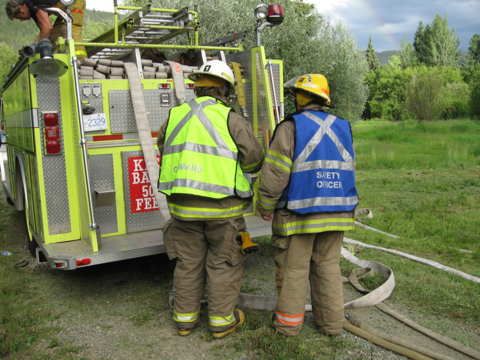 The Fire Service and the Aviation Industry - Firefighter