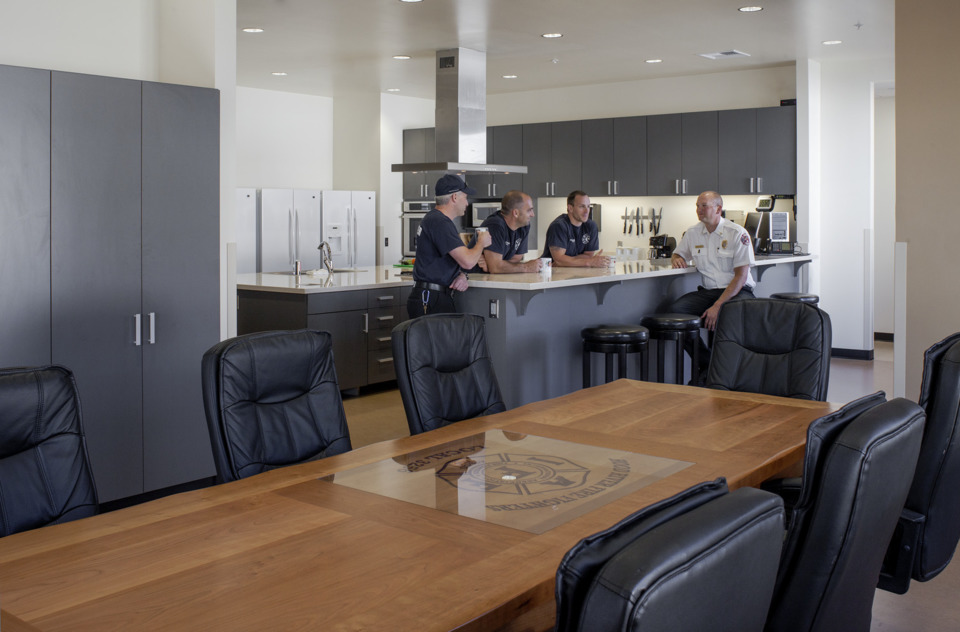 Fire Station Kitchen Design And Features