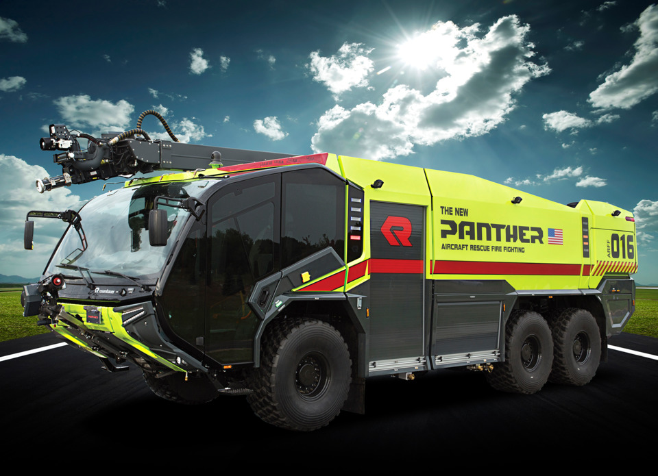 Rosenbauer America Introduces New Panther Aircraft Rescue
