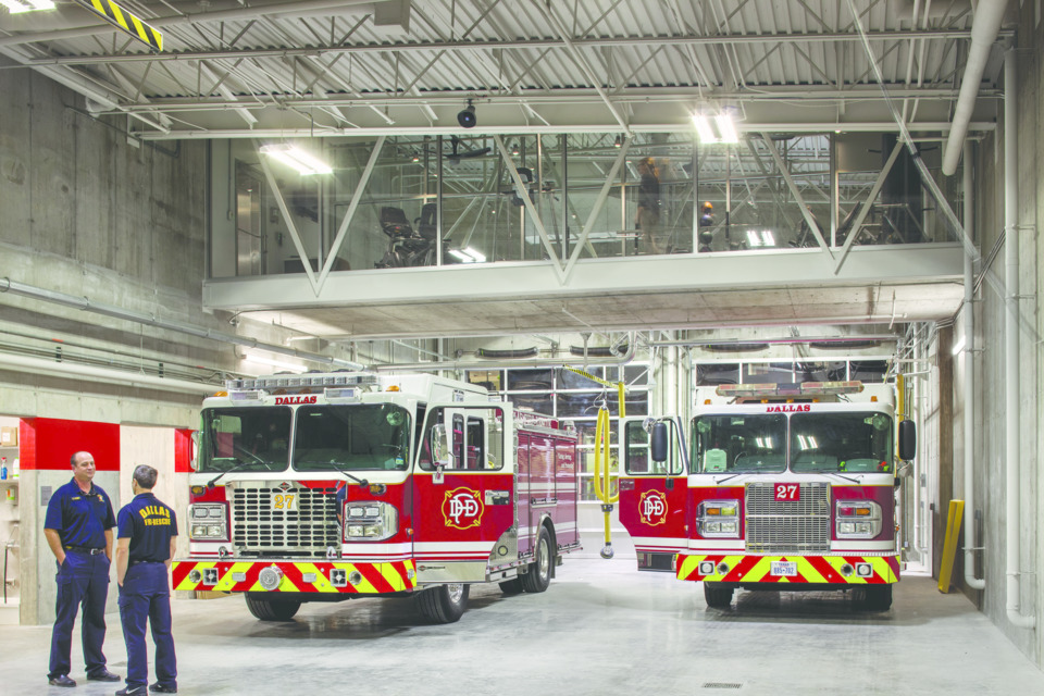 Fire Station Photos - Dallas Fire Rescue Station 27 - Firehouse Photos