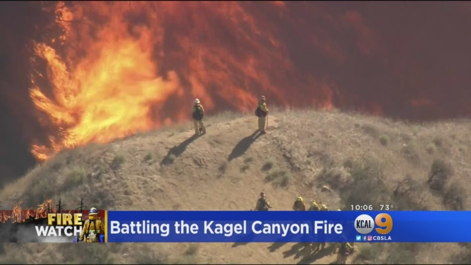 Kagel Canyon Fire Contained To 64 Acres Firefighter News