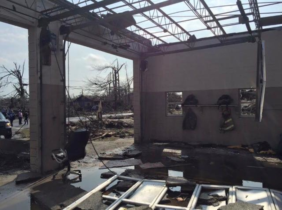 Hattiesburg Fire Station 2 Destroyed By Deadly Tornado
