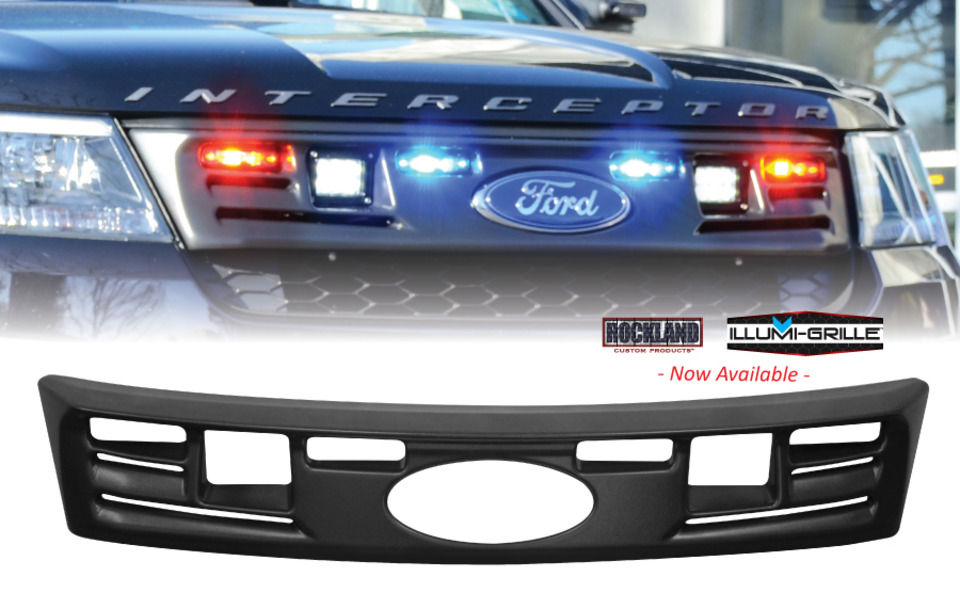 The Highly Anticipated Illumi Grille For The Ford Interceptor Utility Is  Here And Available!