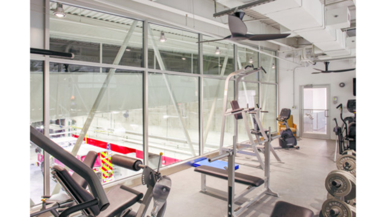 Components of health fitness discussed in fire station design