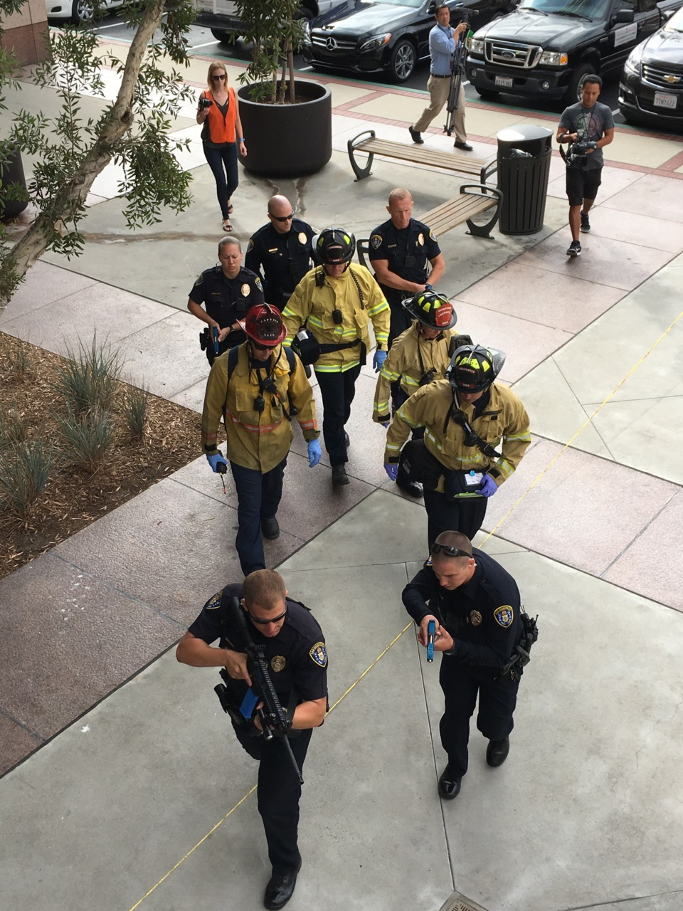 Fire Department Response For Active Shooter Mass