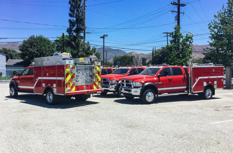 Orange County, CA, Fire Authority Gets Six Rescue, Type 6 Brush ...
