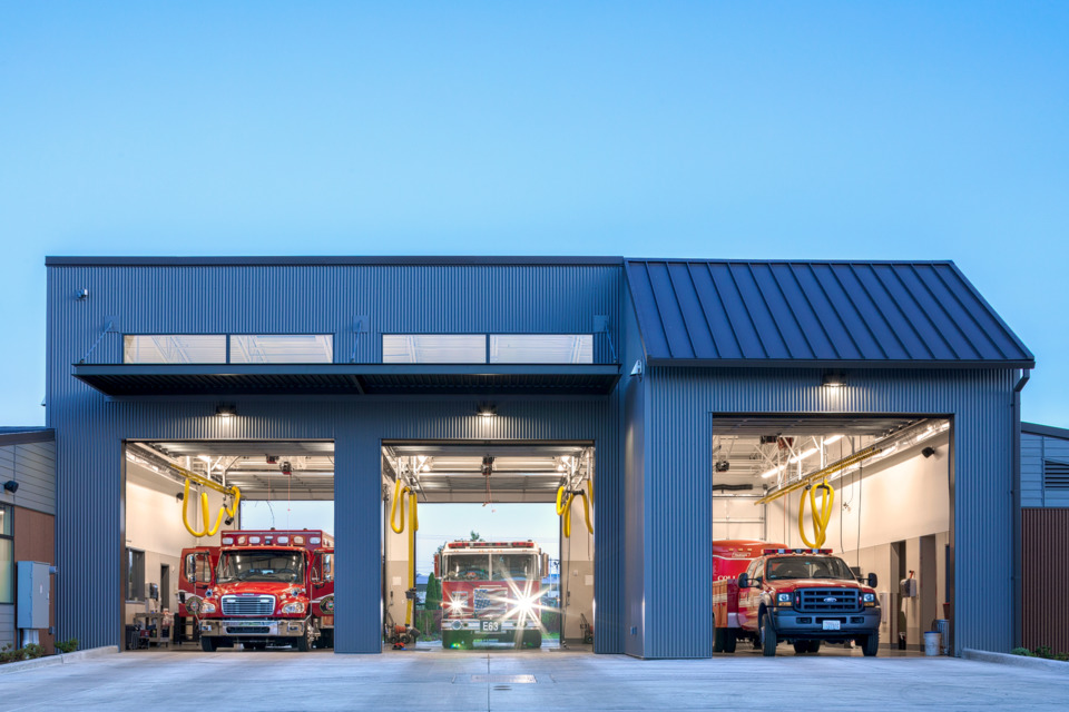 Fire Station Design Diesel Exhaust Concerns In Firehouses