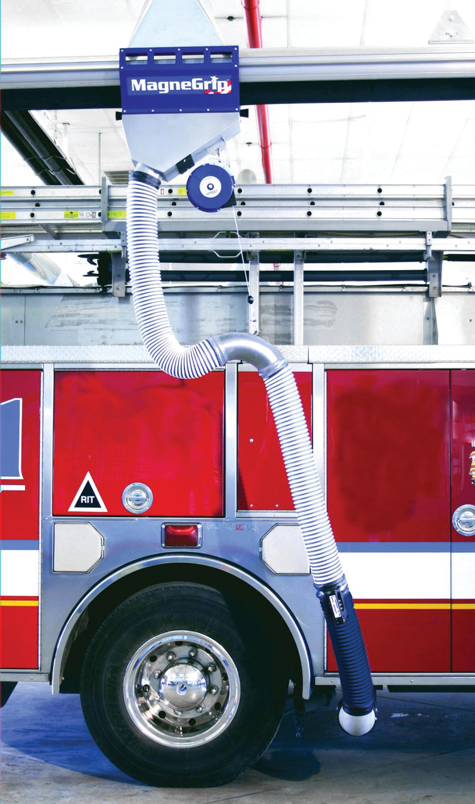 Magnegrip Fire Station Exhaust Removal Systems