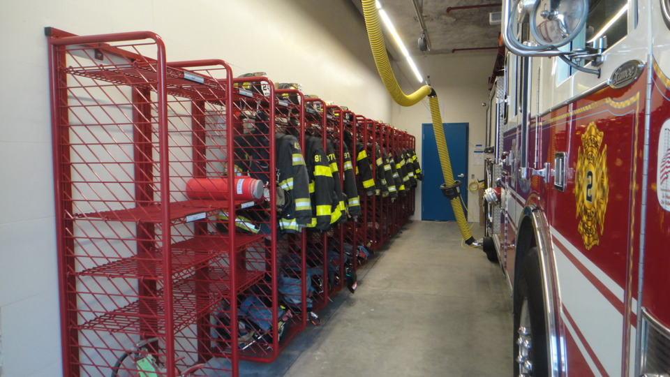 Ready Rack Donates Ppe Storage System To Oceanside Fd