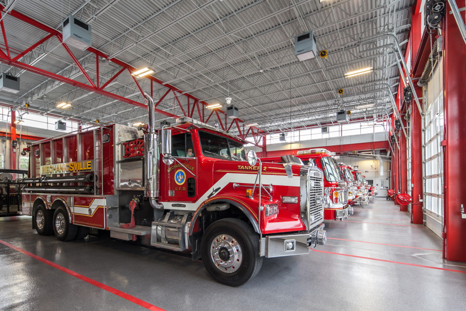 Fire Station Designs Mechanisville Md Firehouse