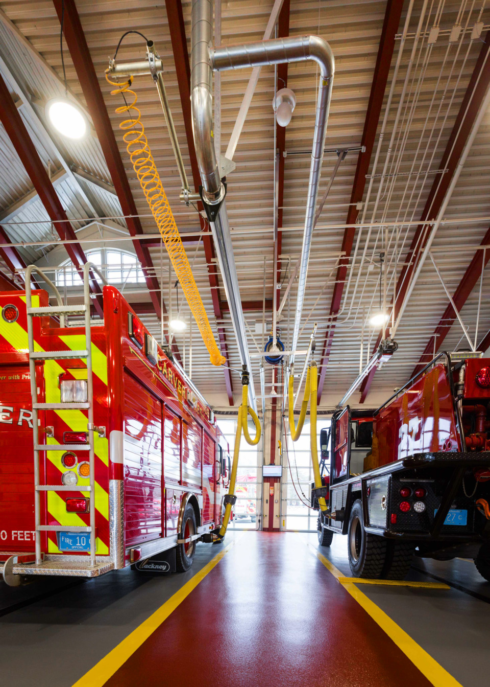 Fire Station Designs Carver Ma Firehouse Architects