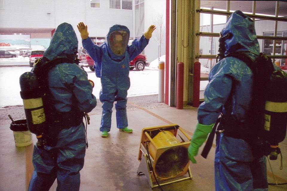 Hazmat Studies Decontamination For Hazmat Amp Terrorism