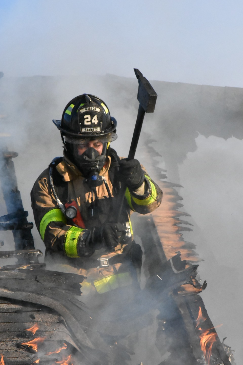 Wilson Borough Pa House Fire Spreads To Other Homes Firefighter News Photos