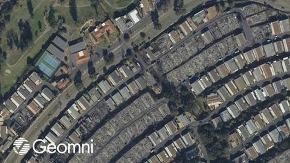 Geomni Capturing Aerial Imagery of California Wildfires