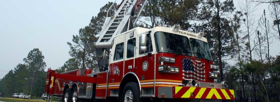 palm coast equipment team looks at fire department u0026 39 s