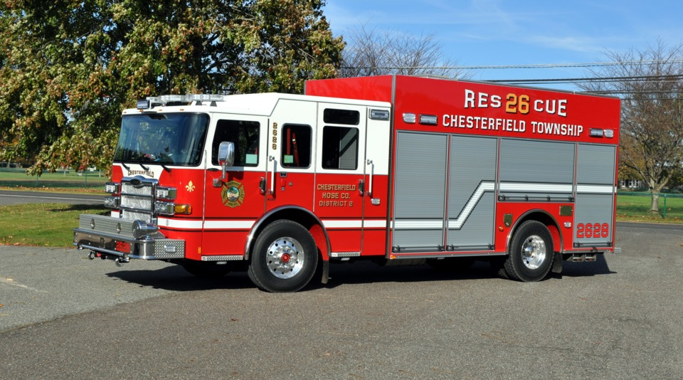 Chesterfield Township Nj Puts Heavy Rescue Made By