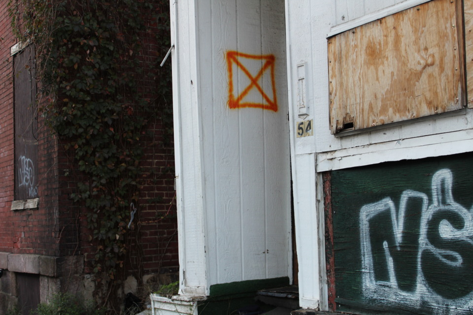 Marking Vacant And Abandoned Buildings