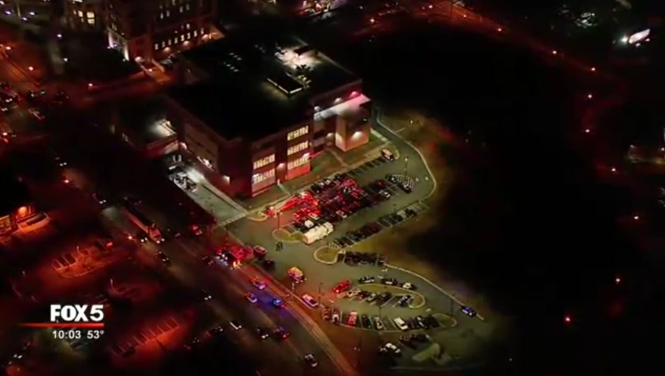 GA Deputies Hospitalized Battle Fire At Forsyth County Jail