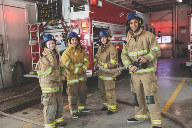 Glynn County Fire Department Starts Explorer Post