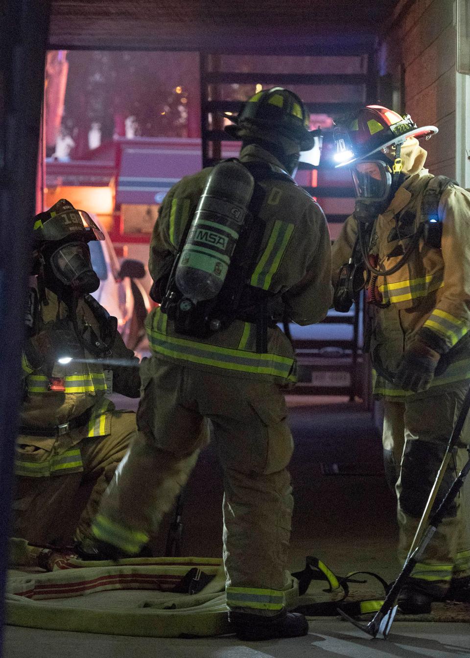 Fireground Photos - Three-Alarm Fire at North Richland Hills