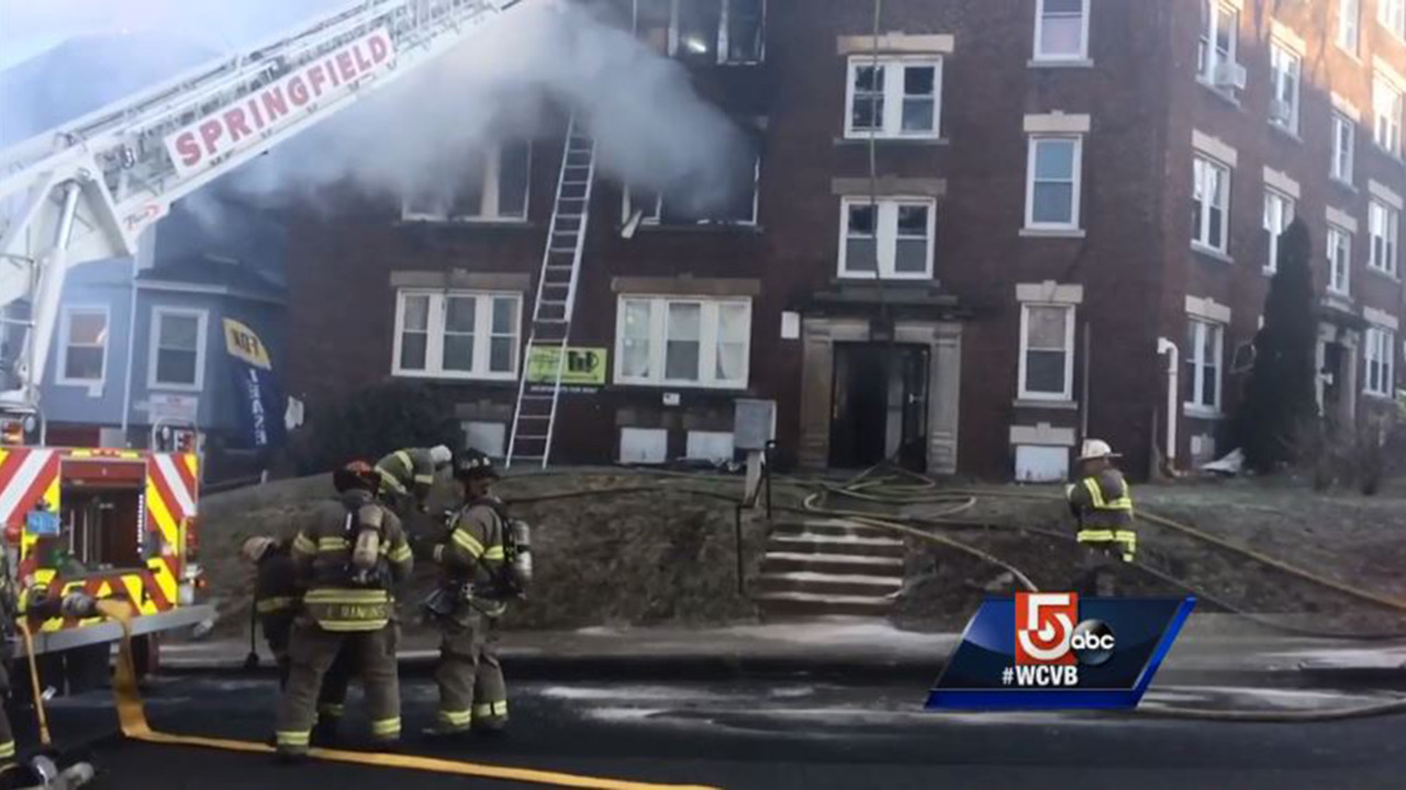 Dad, Children Killed in Springfield, MA, Apartment Fire