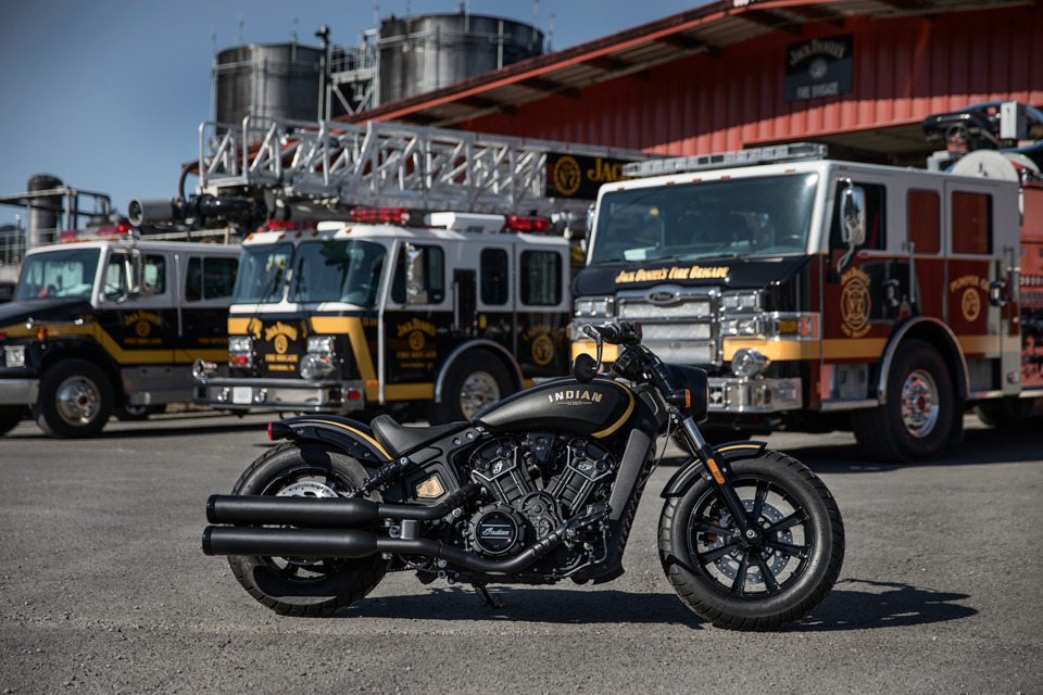 Indian Motorcycle, Jack Daniel's Unveil Limited Edition