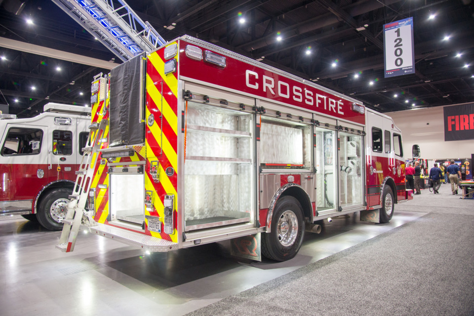 Fire & Emergency Vehicles on Display at Firehouse World