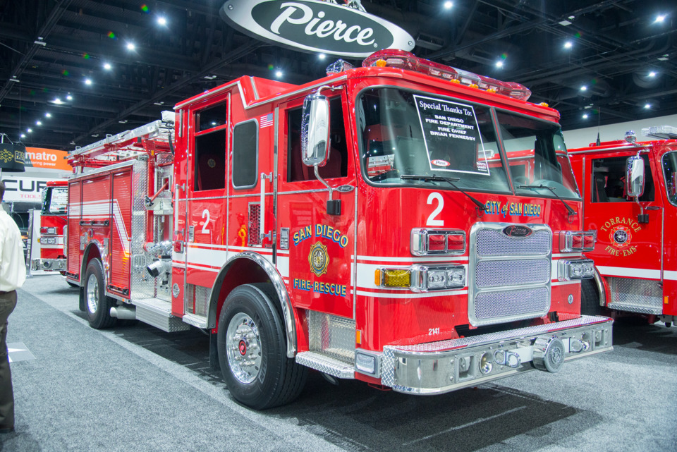 Fire Amp Emergency Vehicles On Display At Firehouse World