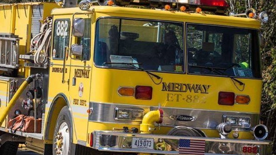 Medway me votes to keep fire department firefighters for Department of motor vehicles bangor maine