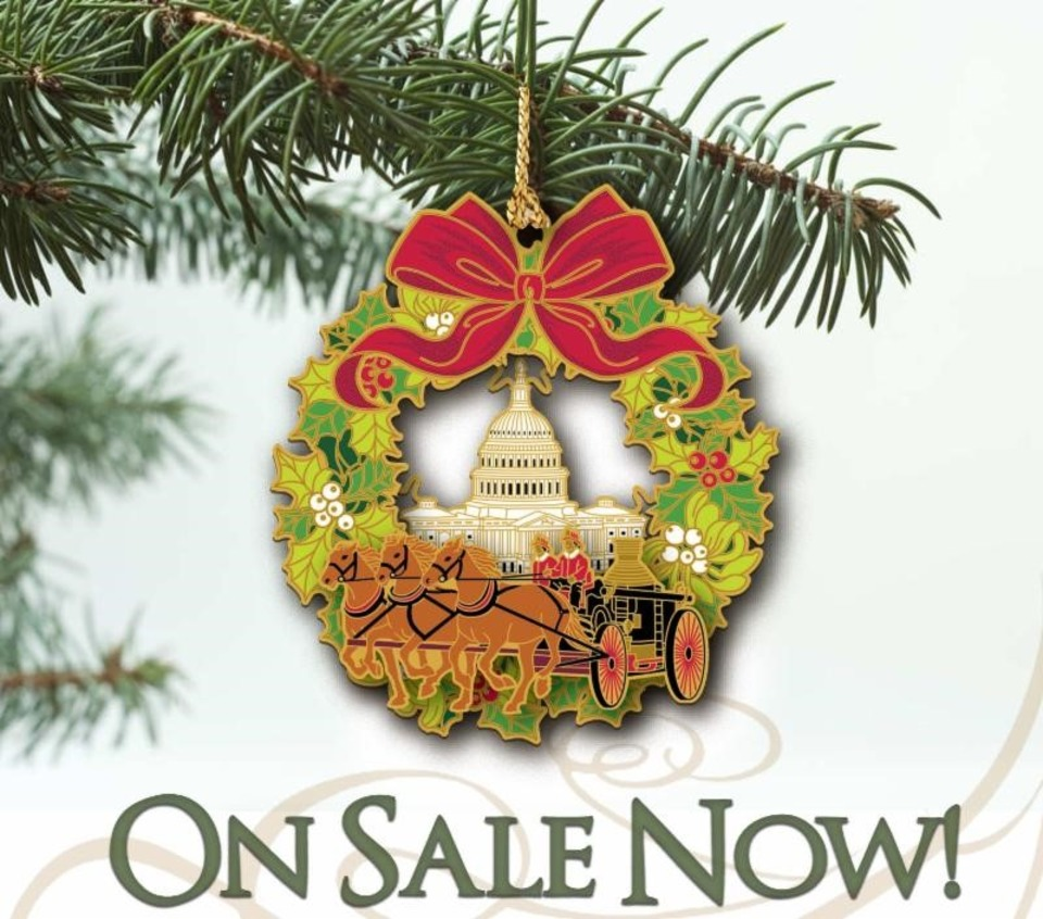 National Fire Service 2018 Christmas Ornament is Now Available ...