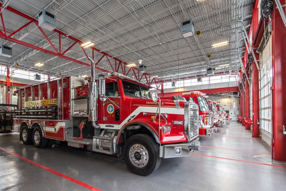 Fire Station Designs Mechanicsville Volunteer Fire