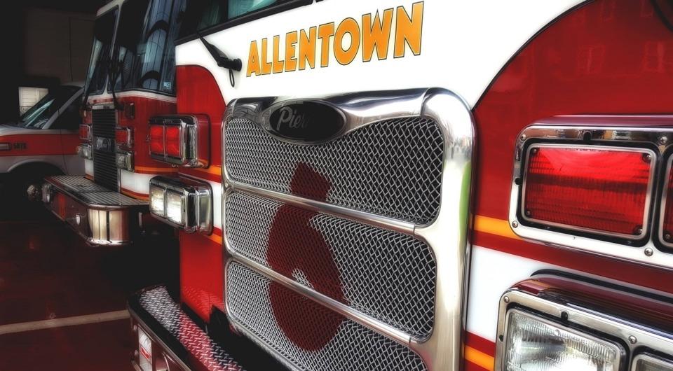 Allentown Pa Firefighters Bomb Squad Fisherman Hooks Wwii