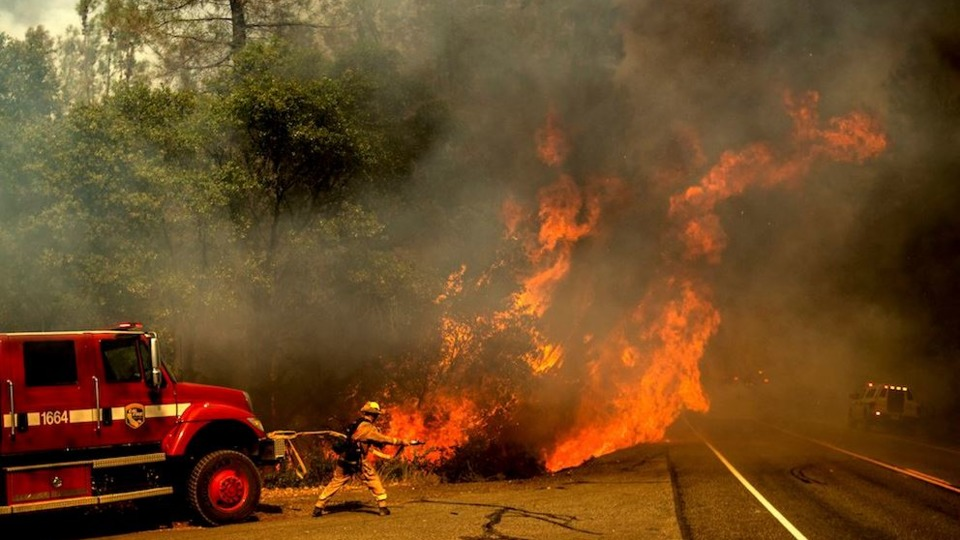 Redding Ca Shasta County Carr Fire Wildfire Two