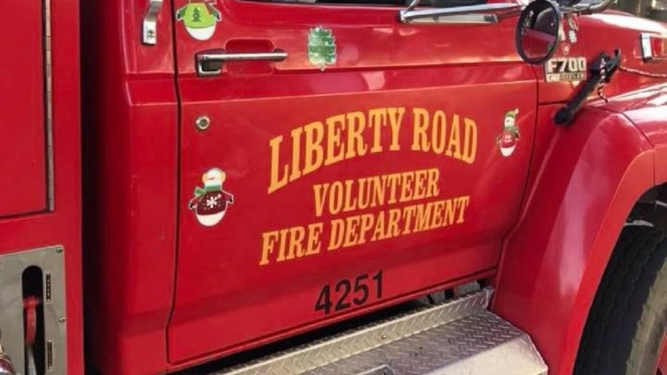 Credit: Liberty Road Volunteer Fire Department