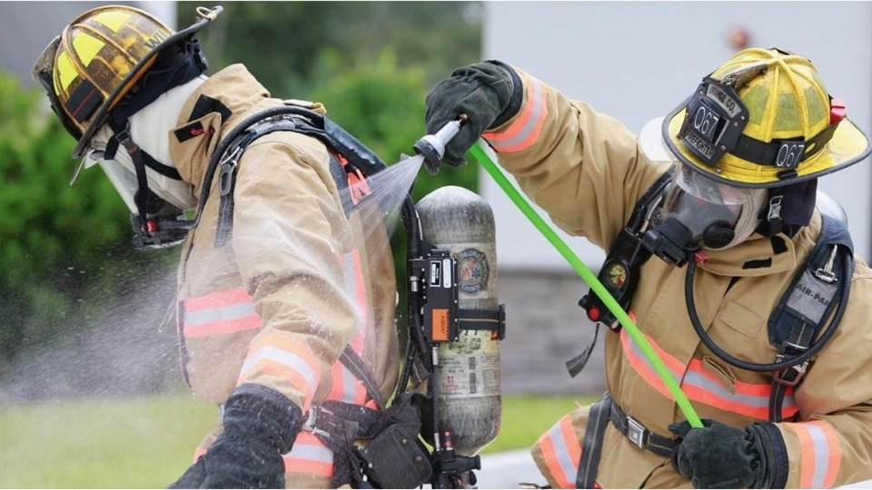 Orange County Fl Firefighters First In Region With Decon Kits