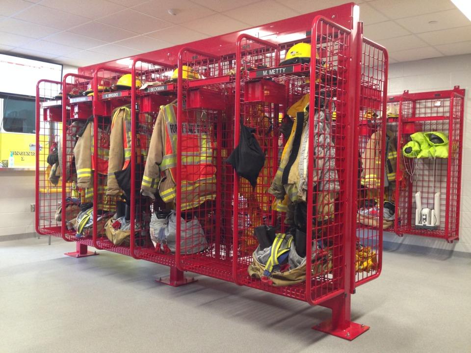 Fire Station Gear Lockers Ppe Storage Firefighter