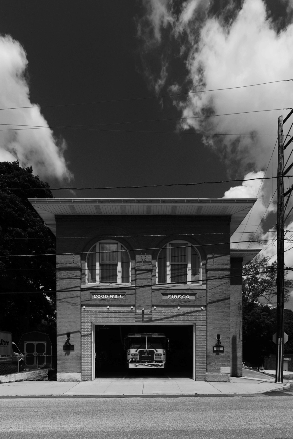 Photos Of Firehouses Of Pennsylvania S Coal Region