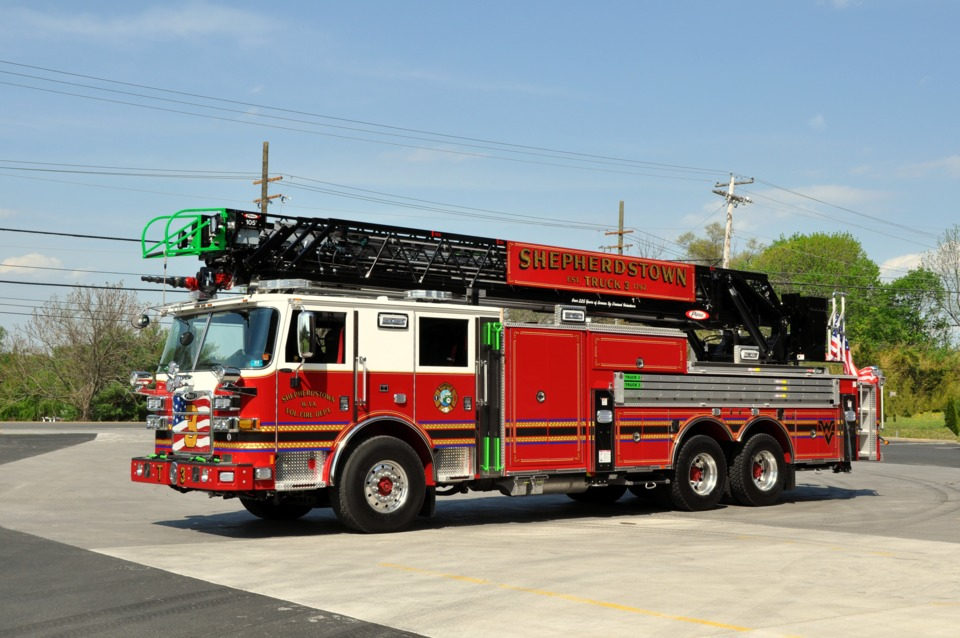 Shepherdstown Wv Vol Fire Dept Gets 105 Foot Aerial