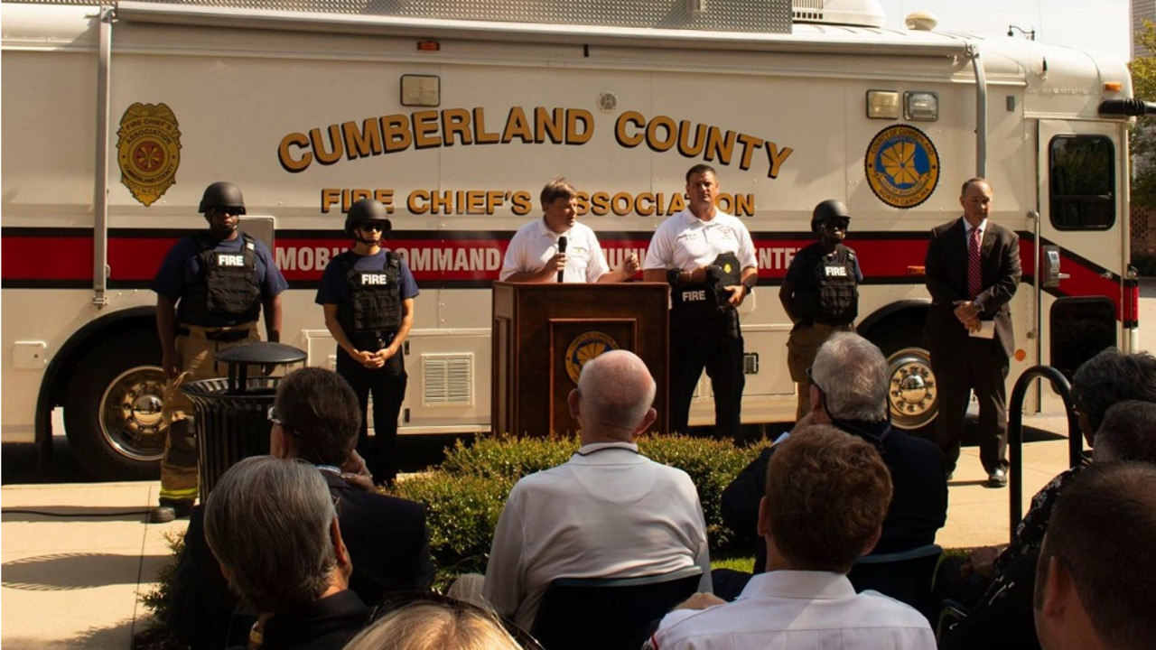 Cumberland County NC Volunteer Firefighters Ballistic Bulletproof