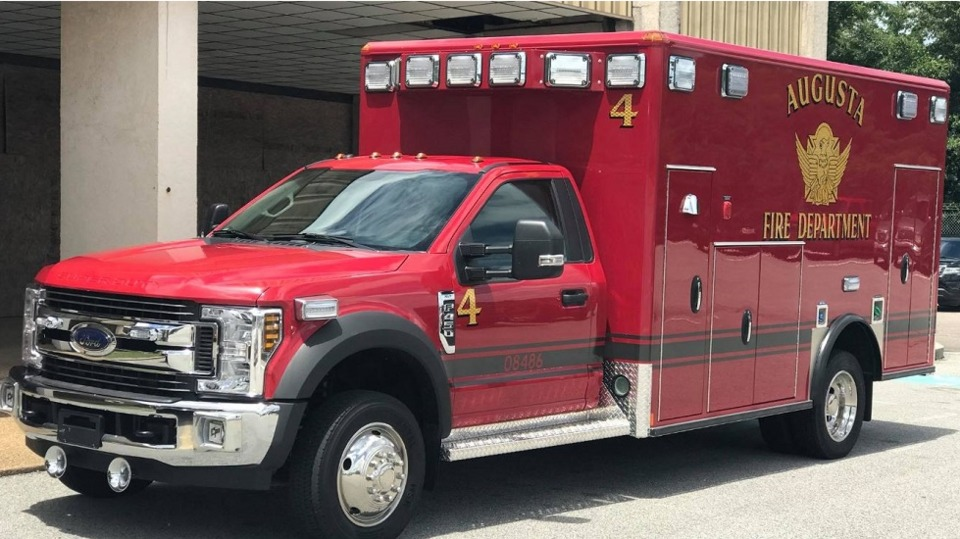 Augusta Ga Ambulance Service Bid Process Fire Department Firefighters