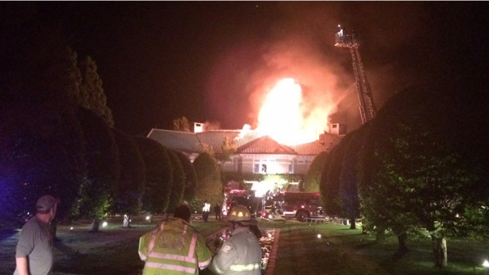 Blaze Causes Extensive Damage to Billionaire's Hampton's Home