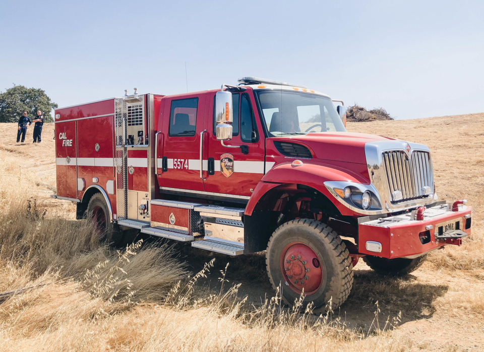 CAL FIRE Takes Delivery of Several Type 3 Apparatus Built by BME